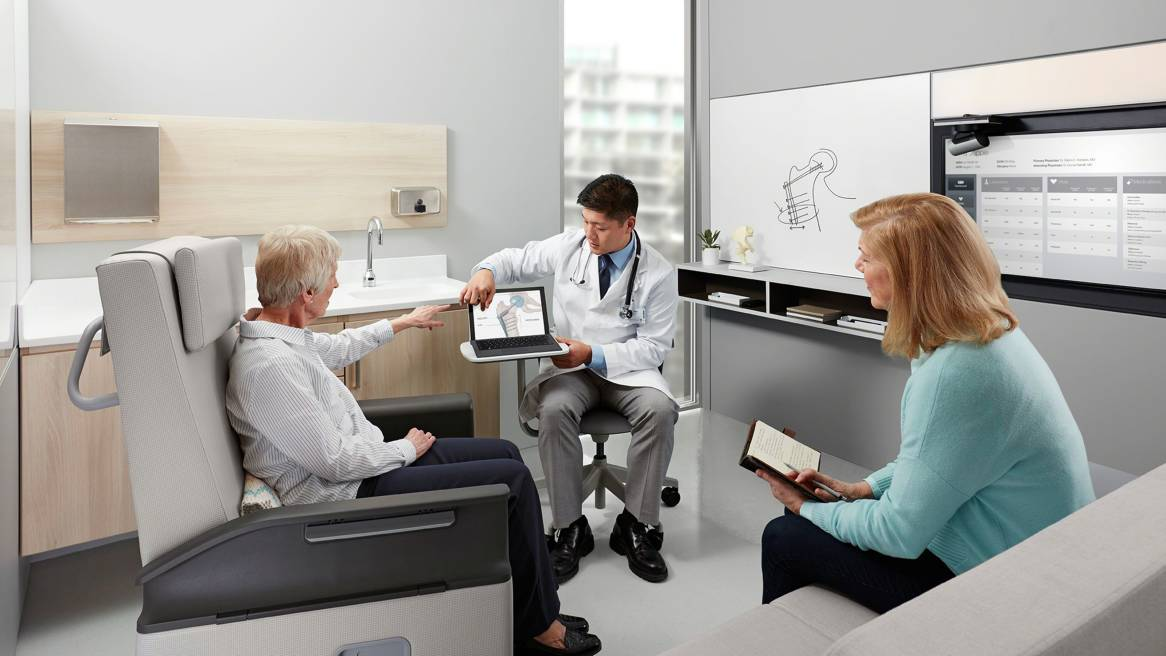 Redesigning The Exam Room For Mutual Participation Steelcase