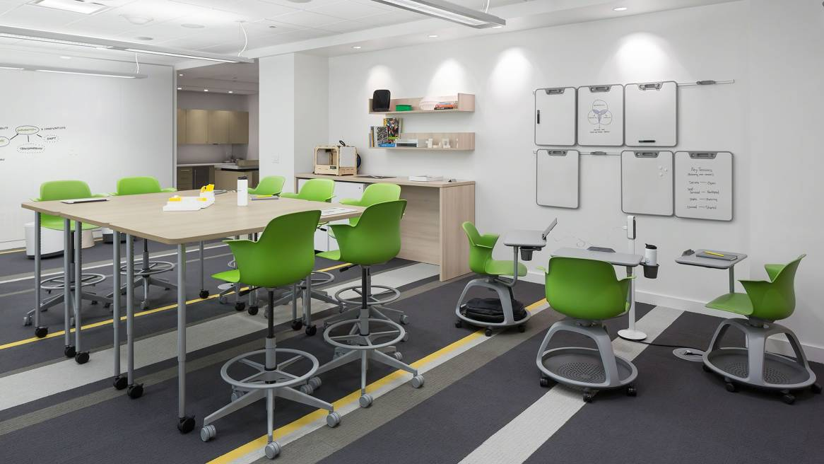 Innovative Classroom Teaching Strategies : Neocon steelcase education