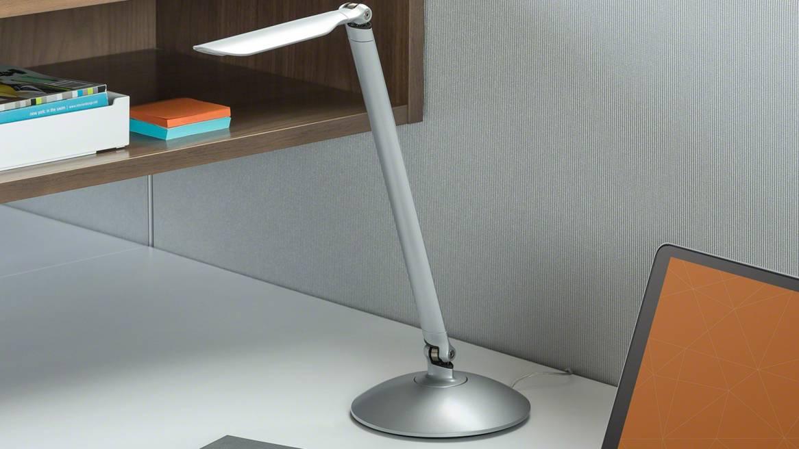 LED Linear Desktop LED Linear Desktop personal task light on a desk