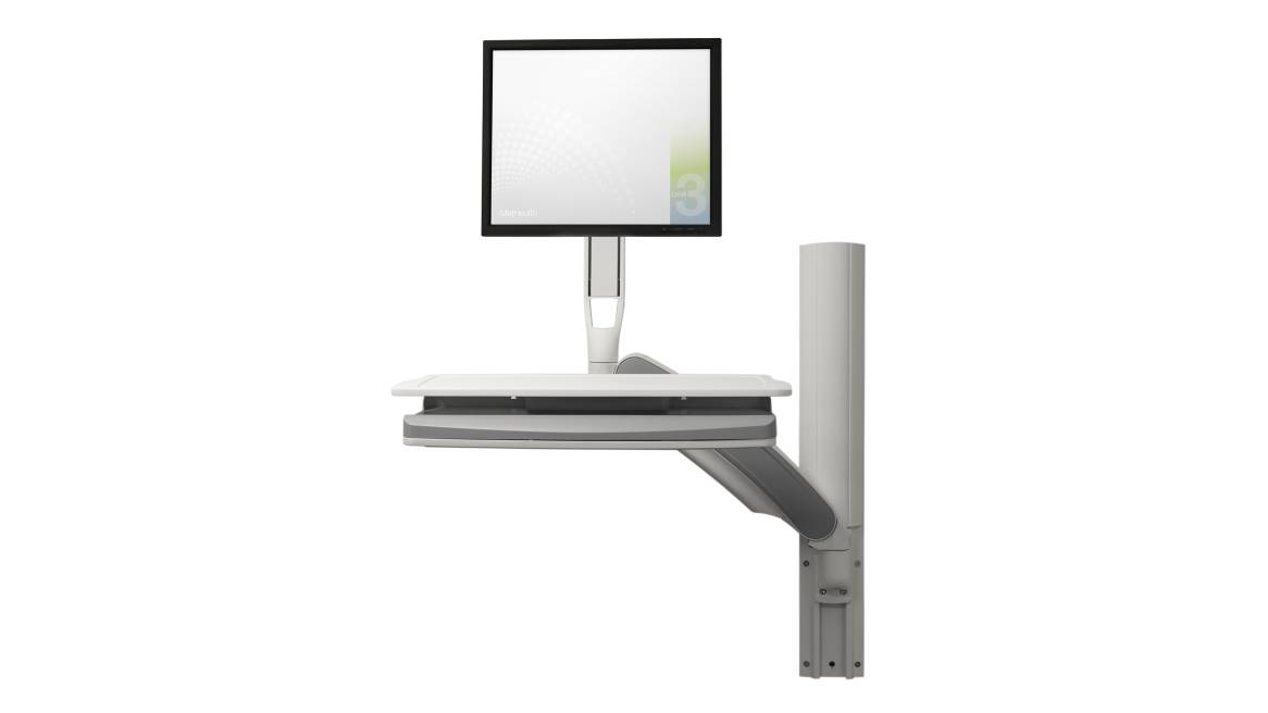 Relay, Computer Support, Patient Room, Exam Room, Infusion Room, Gray Paint on White