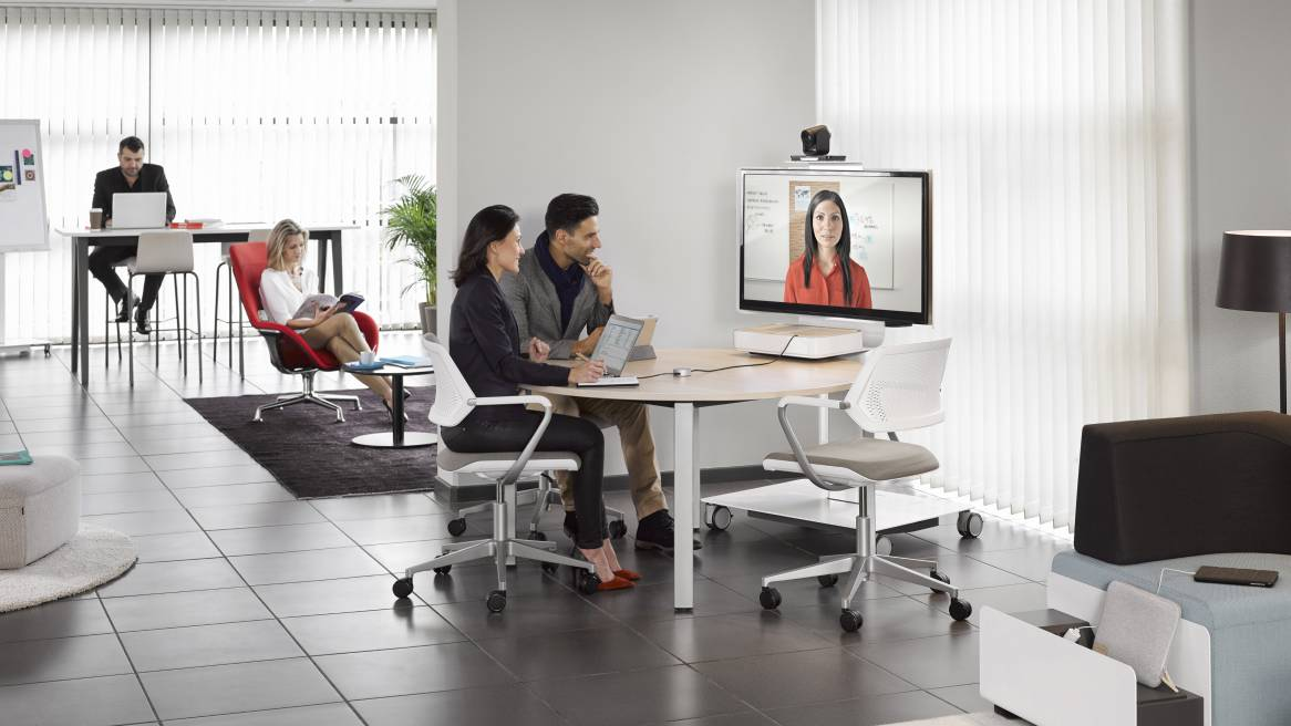 Mediascape Office Collaborative Technology Steelcase