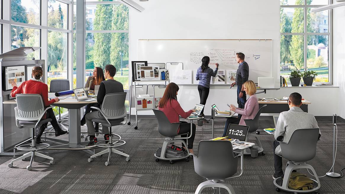 Innovative Classroom Arrangements ~ Classroom furniture solutions for education steelcase