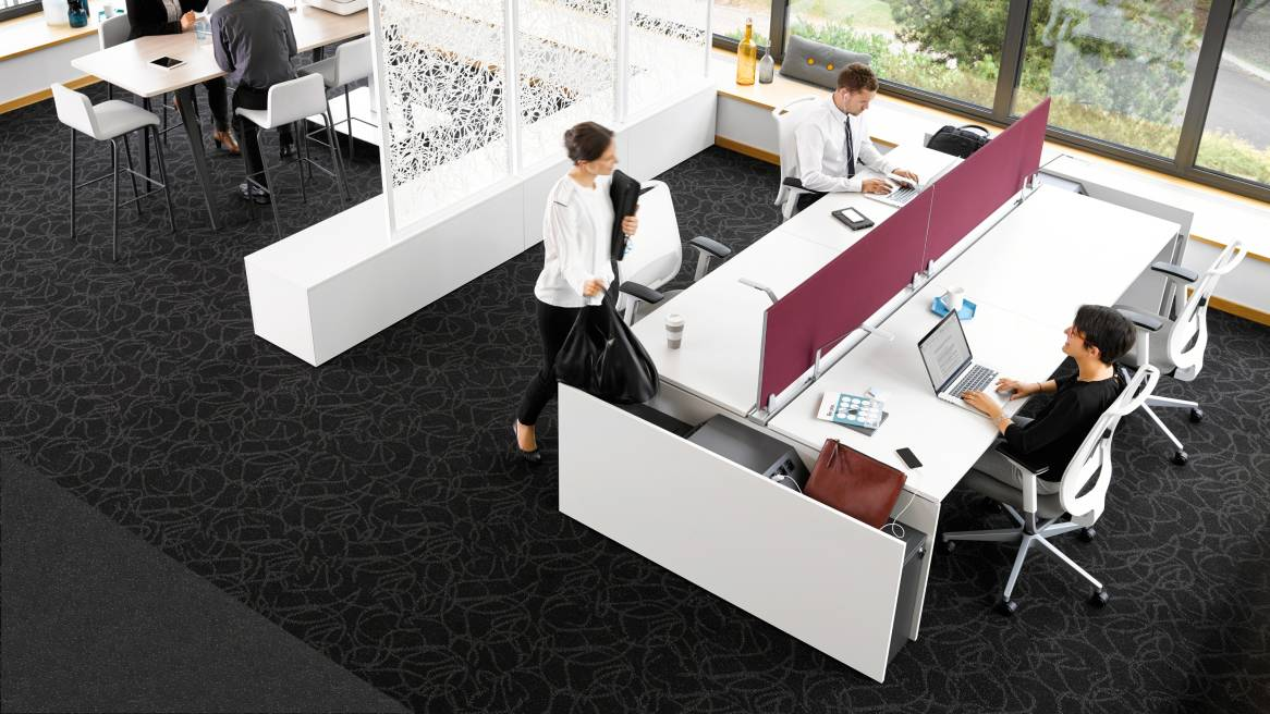 Framefour Benching Systems Office Workstations Steelcase