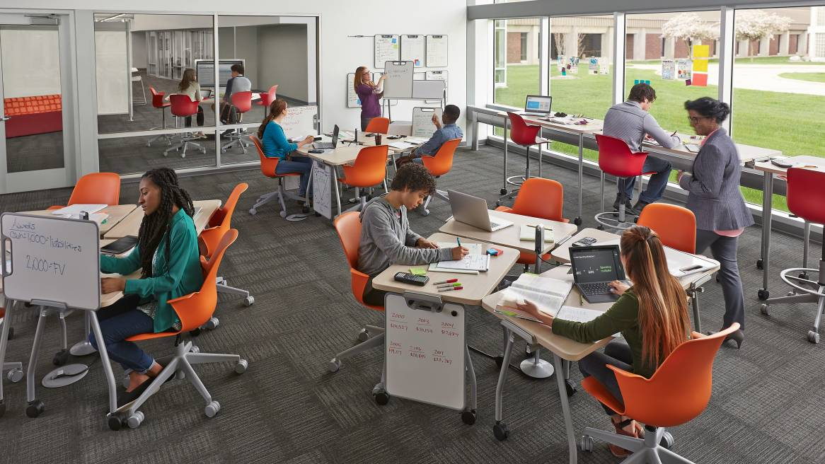 Innovative Elementary Classrooms ~ Classroom furniture solutions for education steelcase