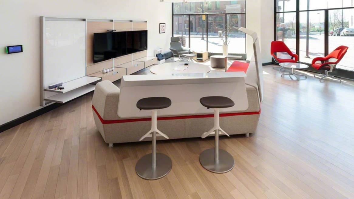 Steelcase拥有超过750家经销商遍及全球