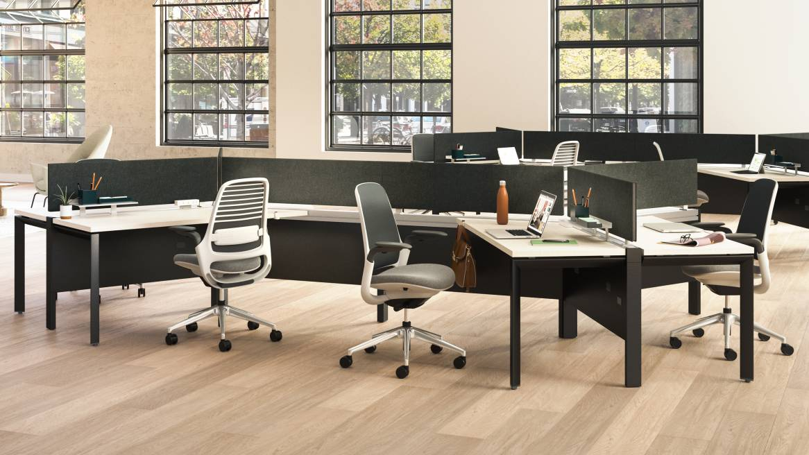 Answer Beam + Steelcase Series 1