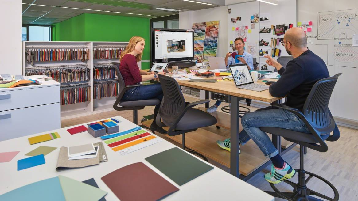 Inside innovation steelcase just as many other companies have relied on steelcases applied research and consulting arc services to propel their change efforts steelcase leaders malvernweather Images