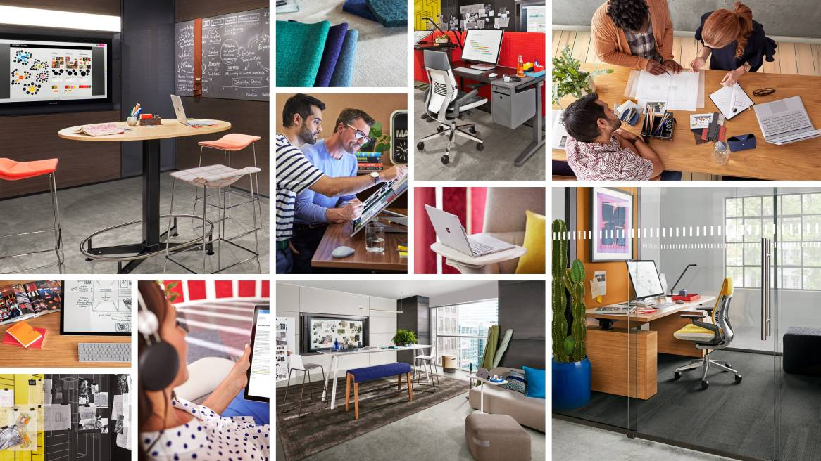 Creative Workspaces Designed to Inspire by Steelcase & Microsoft