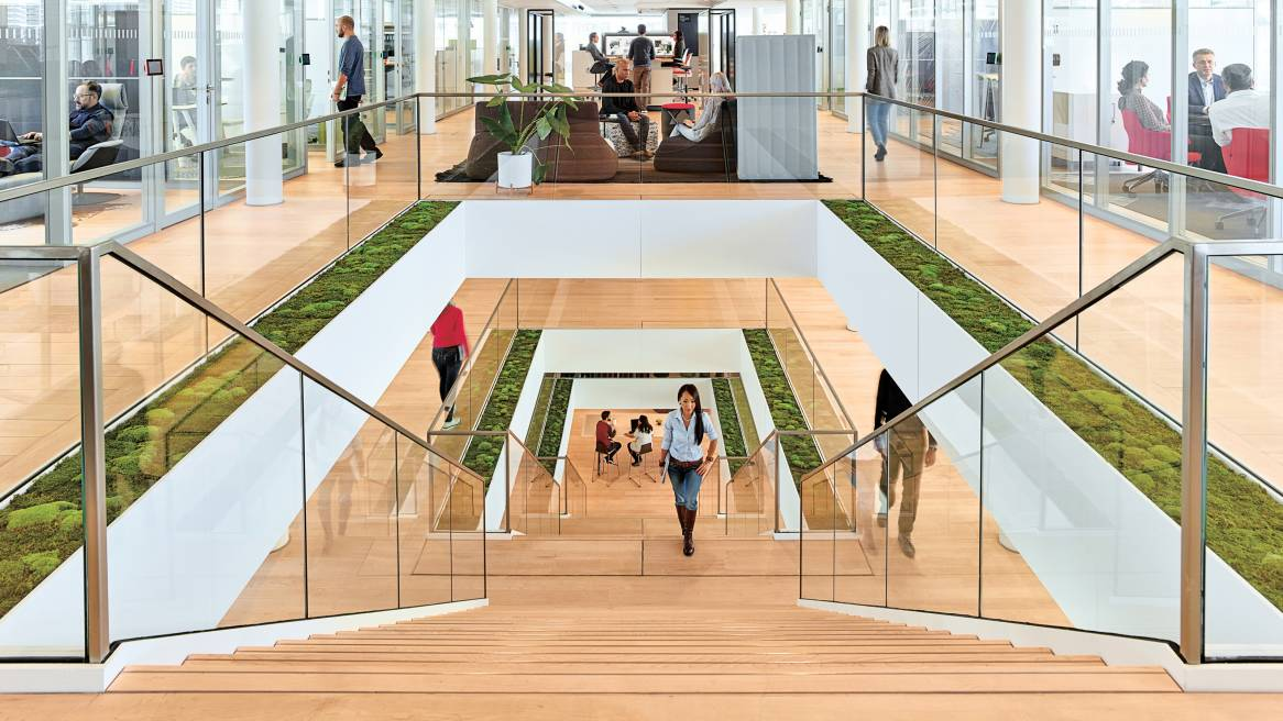 360 magazine steelcase named one of world's most admired companies