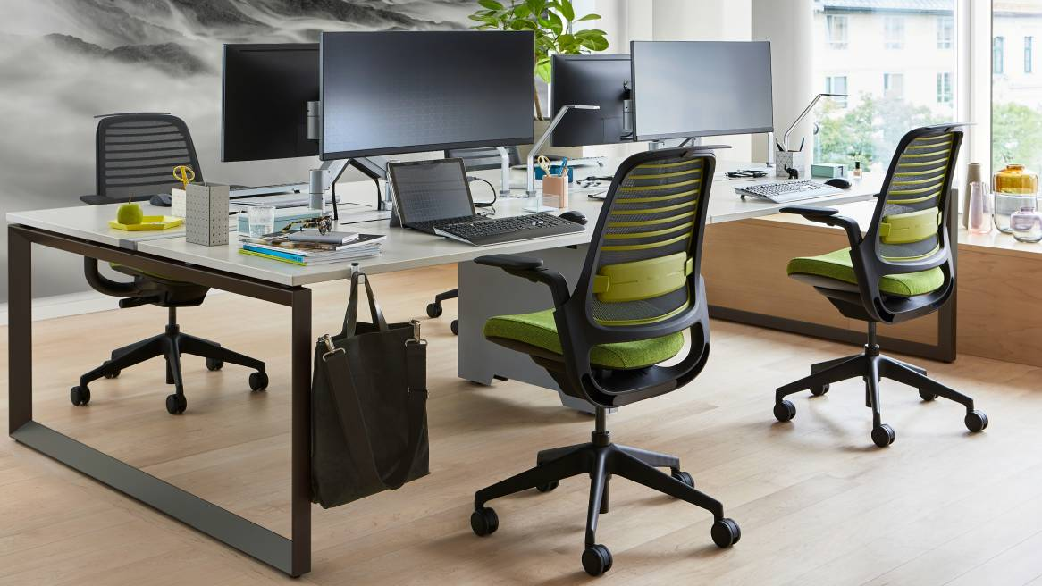 Inside Steelcase Series 1