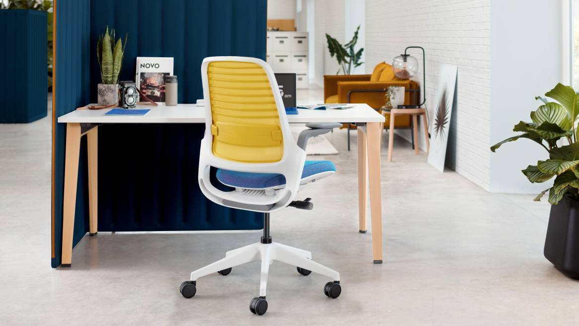 steelcase series 1 office chair. Black Bedroom Furniture Sets. Home Design Ideas