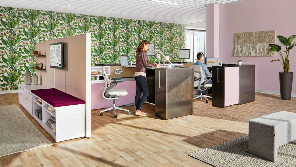 Credenza Definition Furniture : Answer beam steelcase