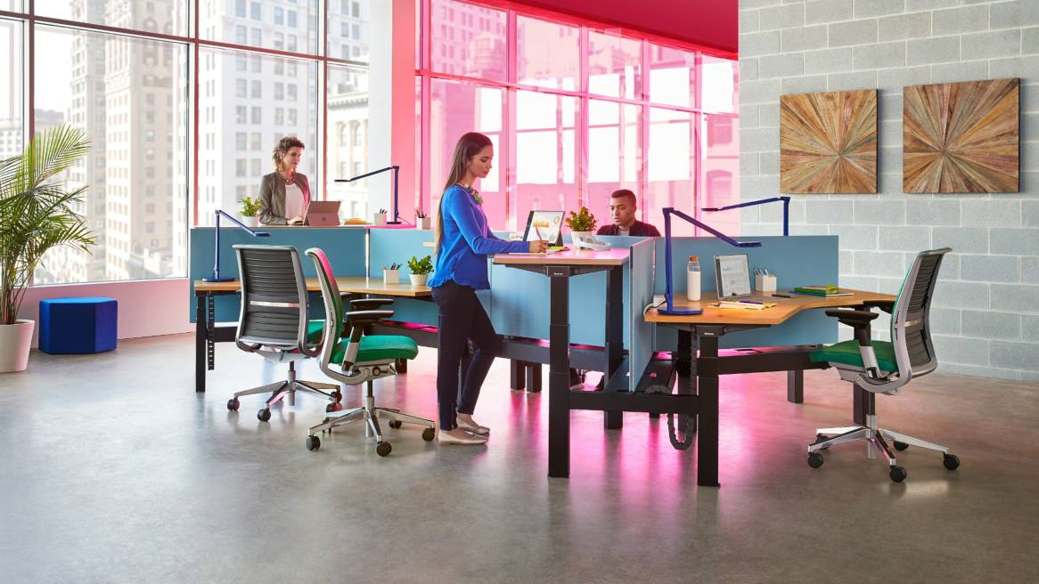 New Study Shows Health Benefits Of Standing At Work Steelcase