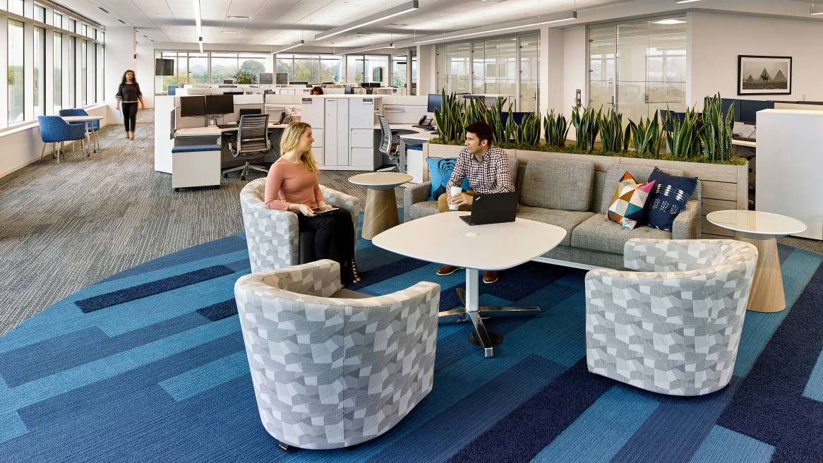 360 magazine headquarters invigorates a company's culture and image