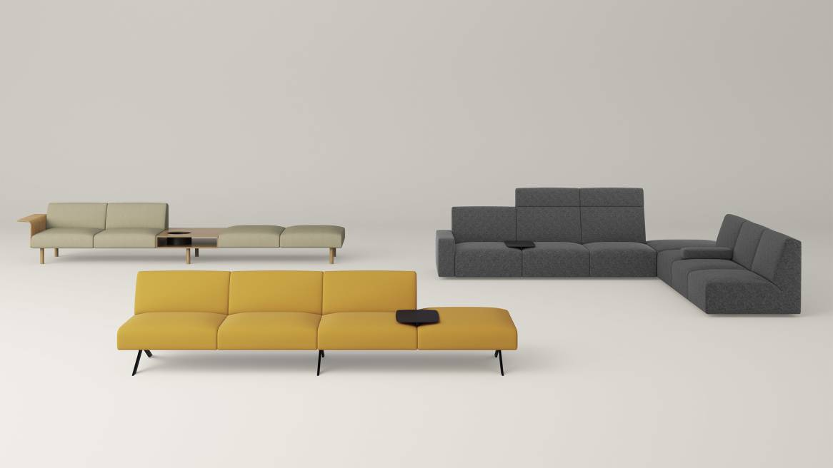 Sistema Lounge System by Coalesse