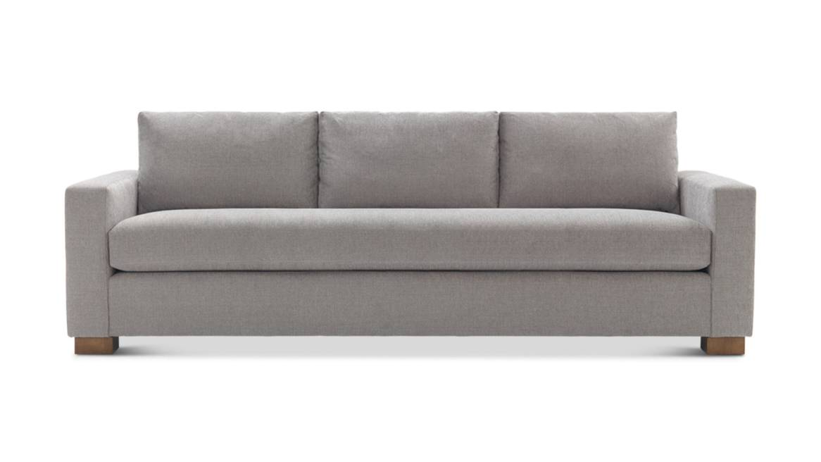 Light grey Carson Sofa 3 seat lounge sofa