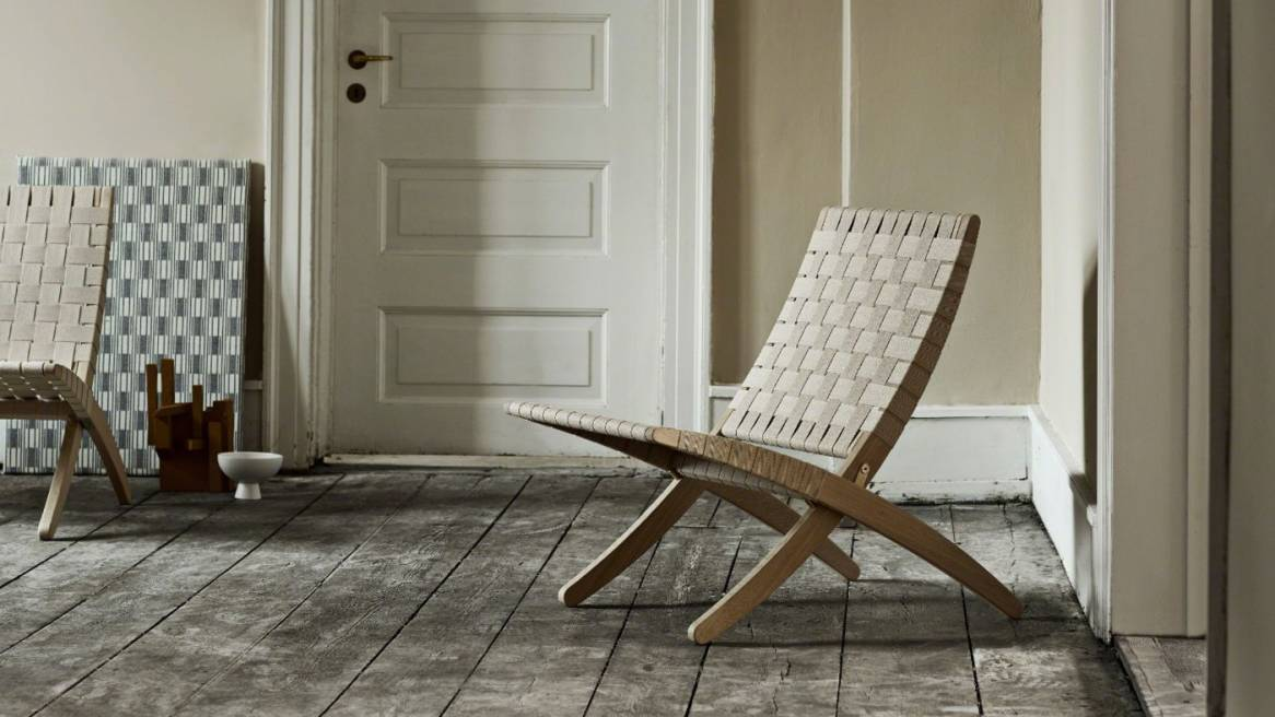 Cuba chairs CHMG501 by Carl Hansen & Son are seen in a room