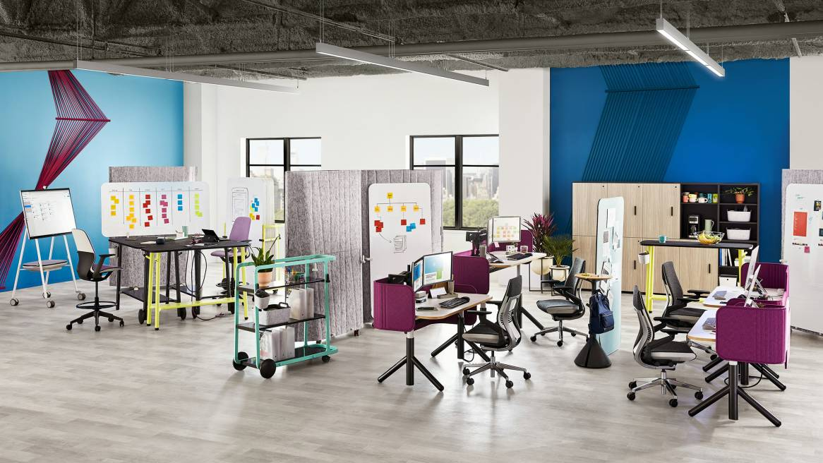 The Steelcase Flex Collection