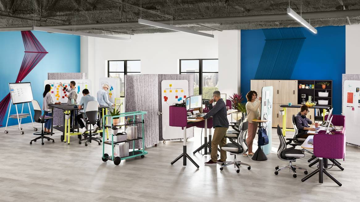 Steelcase Flex Collection Agile Studio