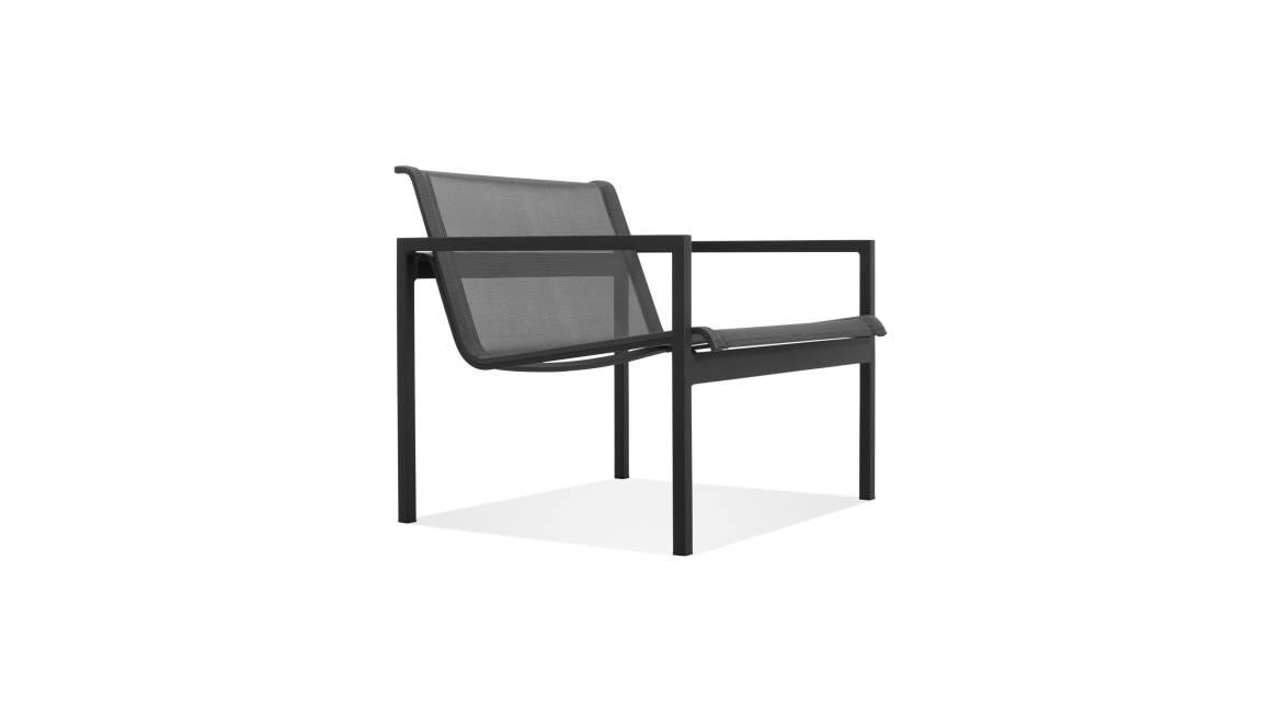 Blu Dot Skiff Lounge Chair on white
