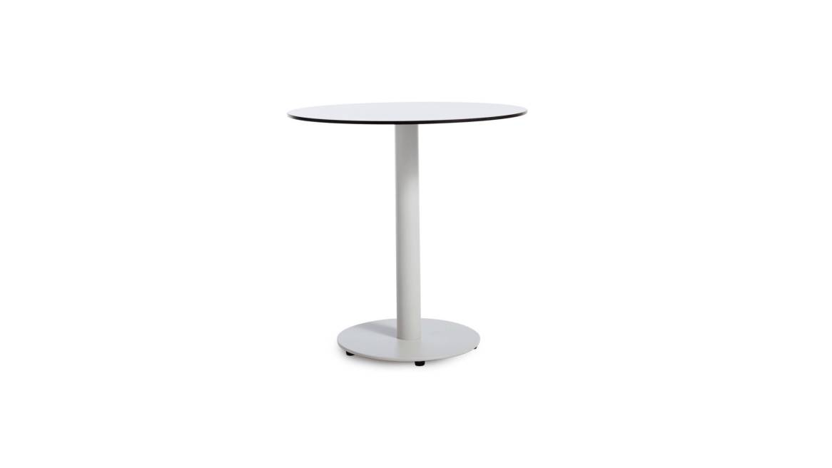 Blu Dot Skiff Outdoor Cafe Table on white