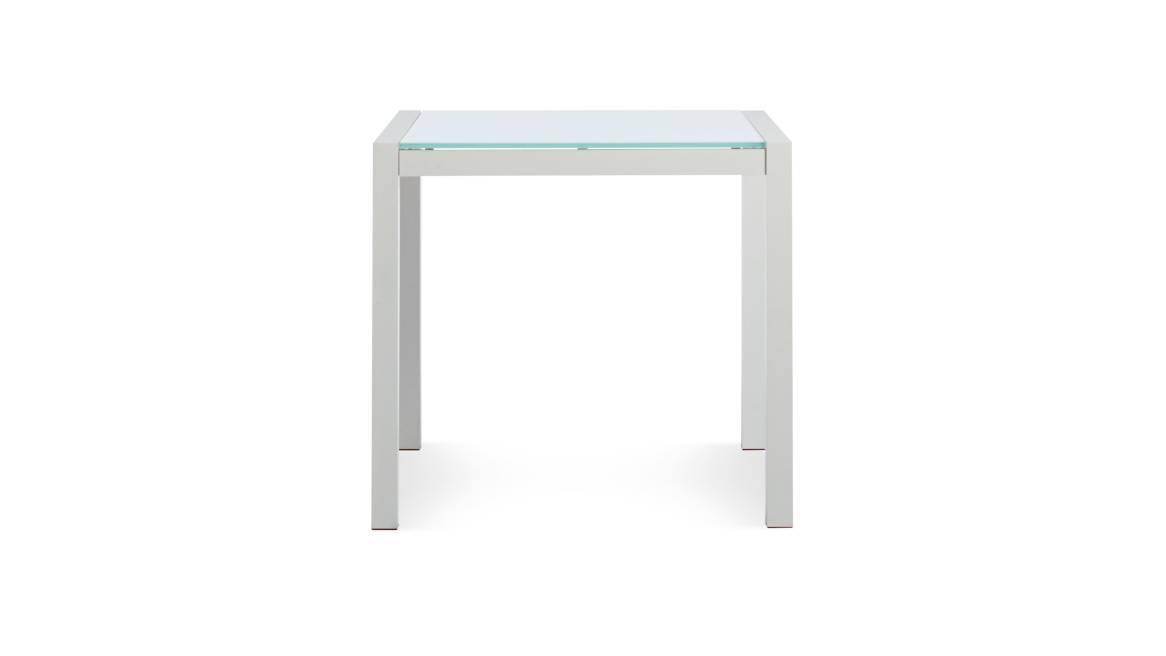 Blu Dot Skiff Square Table on white