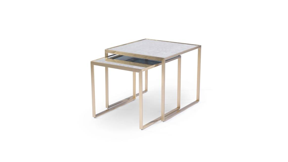 MGBW Astor Nesting Side Tables on white