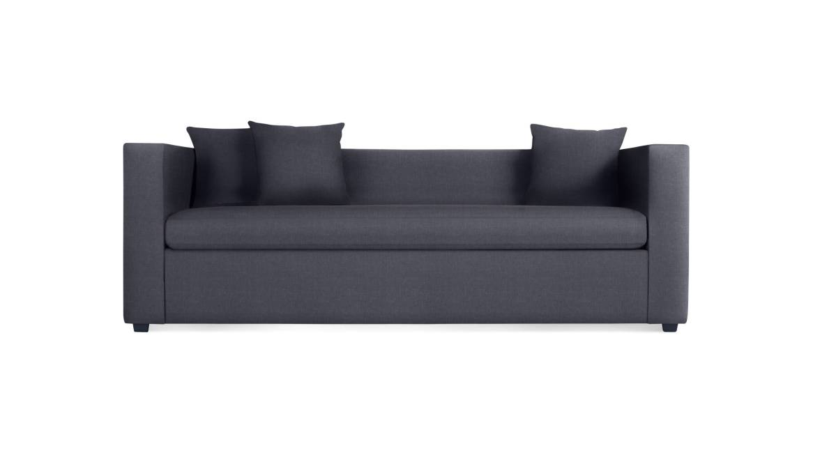 Blu Dot Mono Sleeper Sofa On White