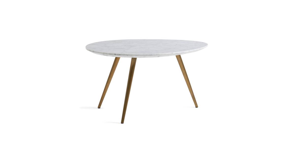 West Elm Work Lily Pad Nesting Tables On White