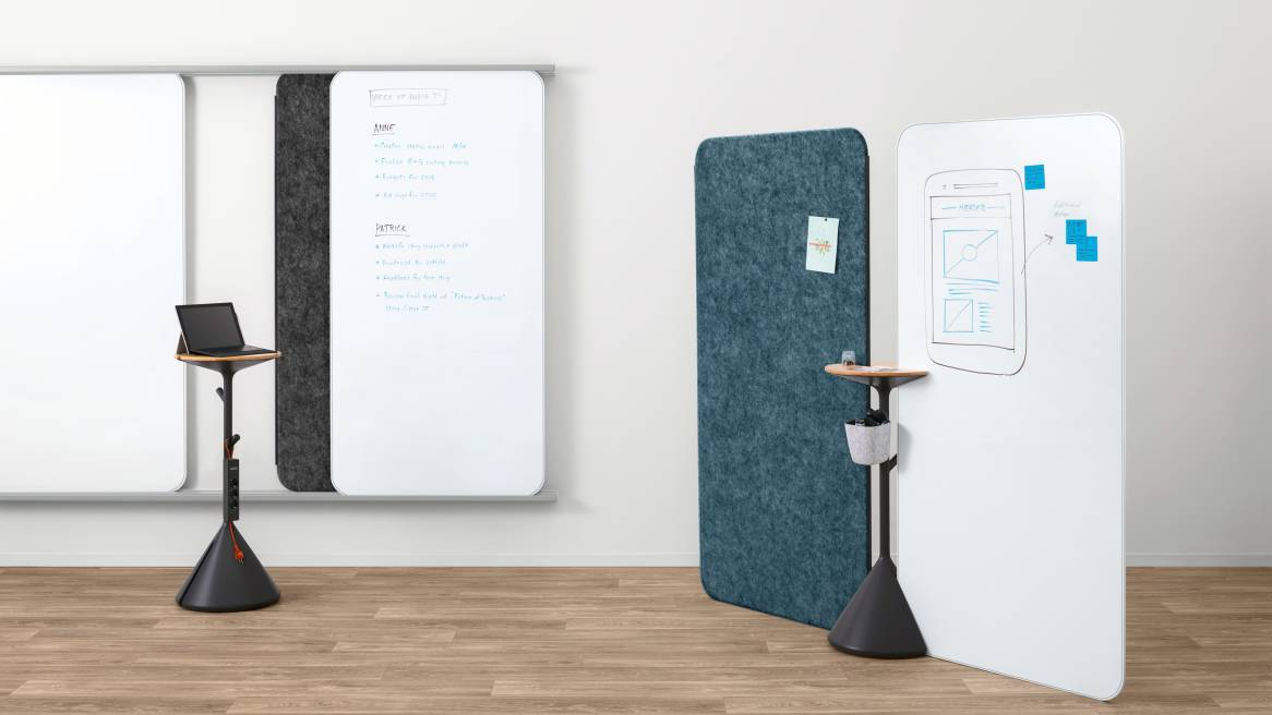 Steelcase Whiteboard Solution on whites