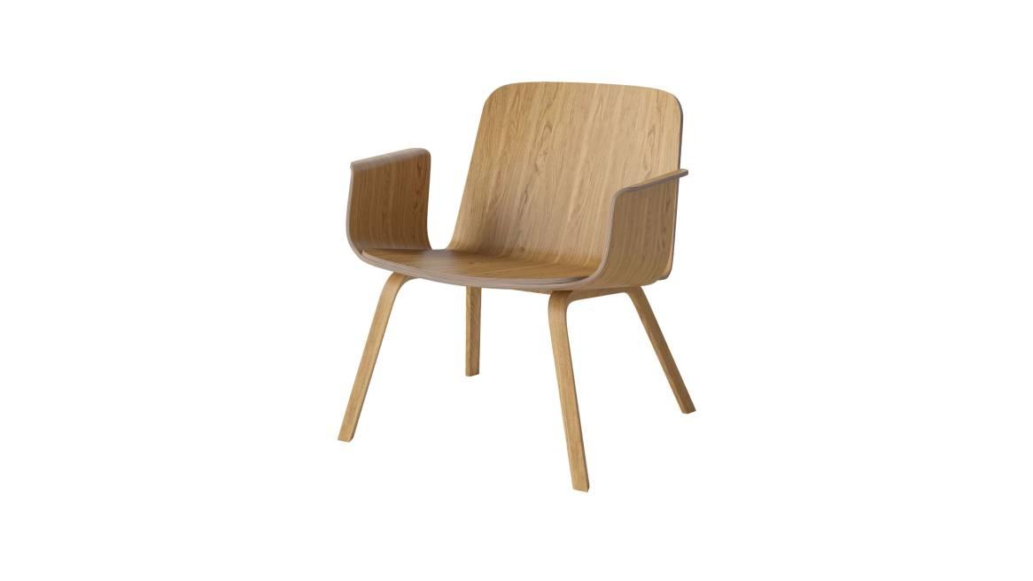Bolia Palm Lounge Chair 2 On White