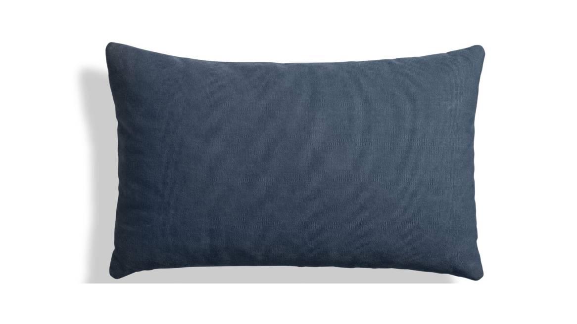 Blu Dot Signal Canvas Lumbar Pillow On White