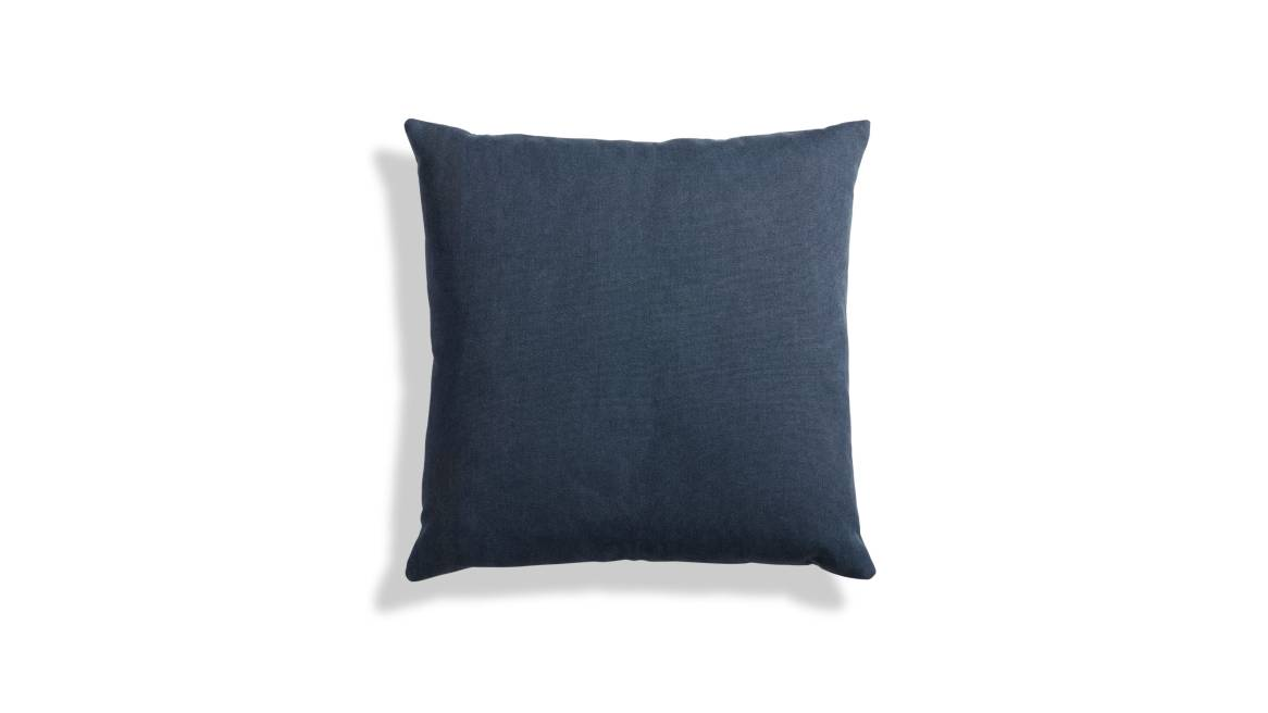 Blu Dot Signal Canvas Square Pillow On White