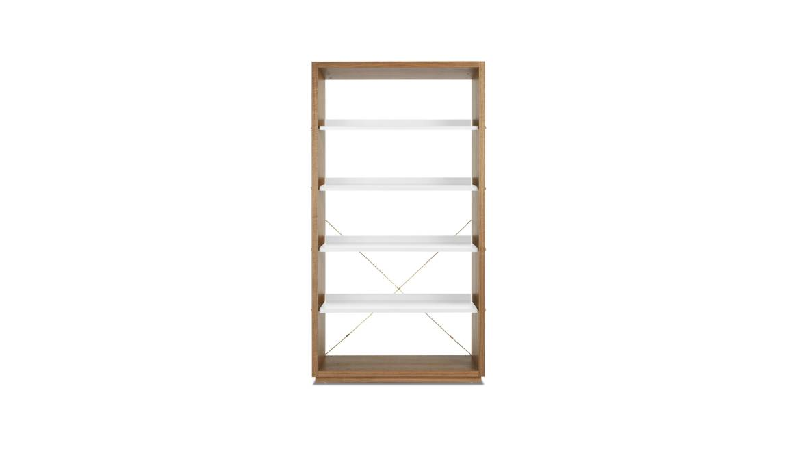 Blu Dot D3 Bookcase On White