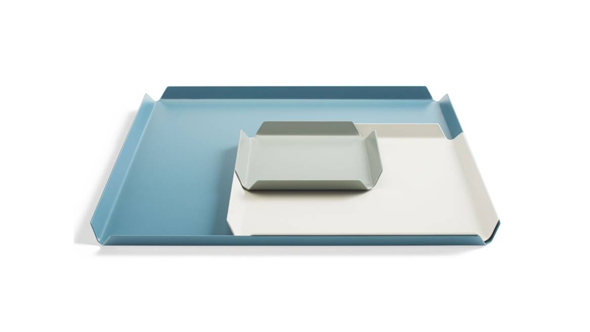 Blu Dot 100% Trays Color Mix 2 On White