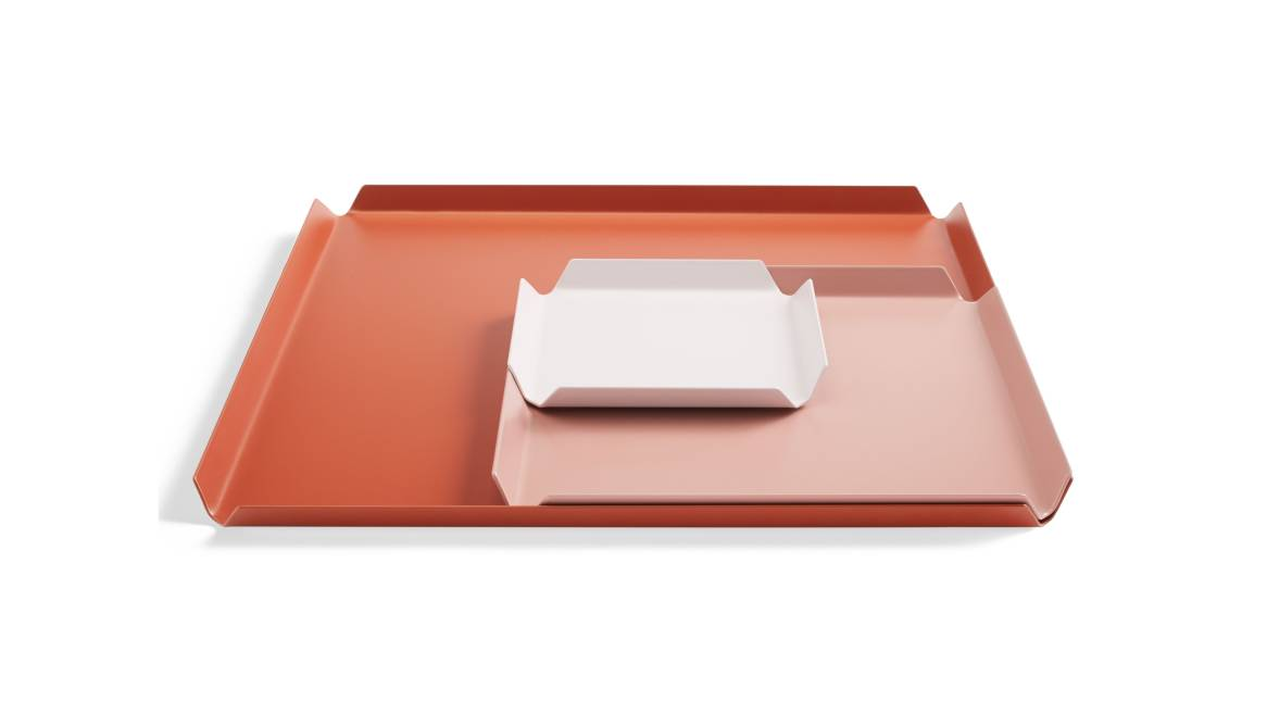 Blu Dot 100% Trays Color Mix 3 On White