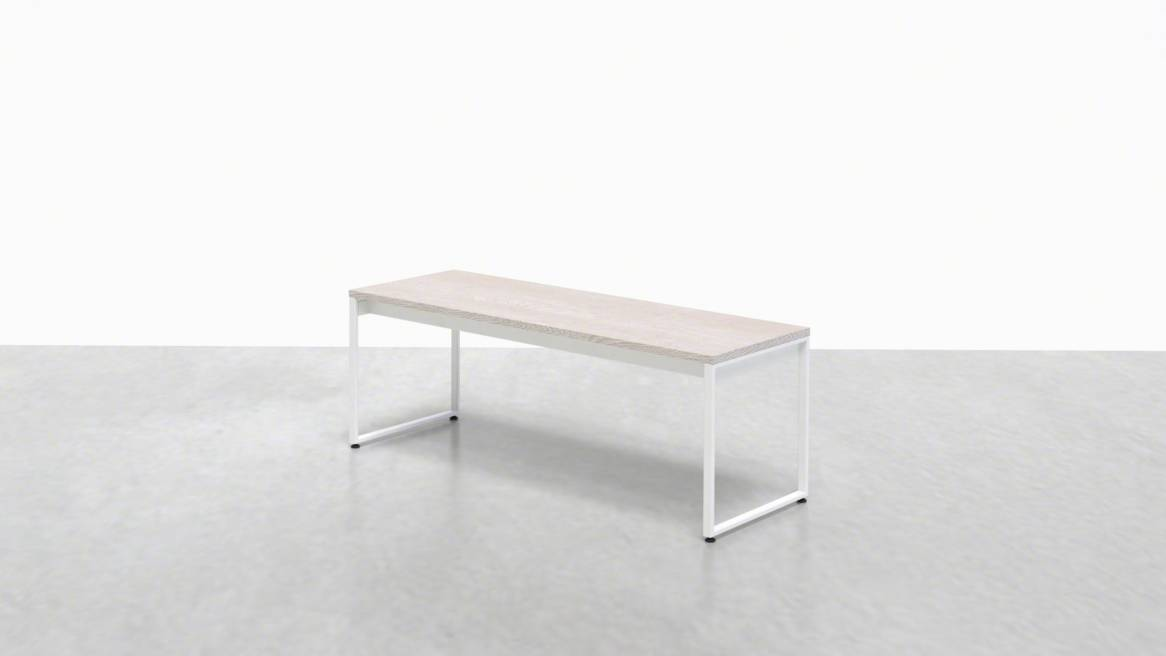 Uhuru 1 x 1 Bench 48 On White