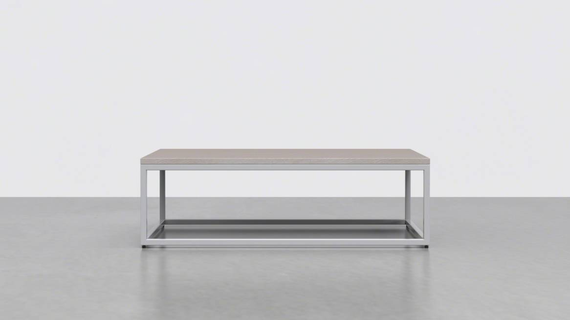 Uhuru 1x1 Coffee Table 42 On White