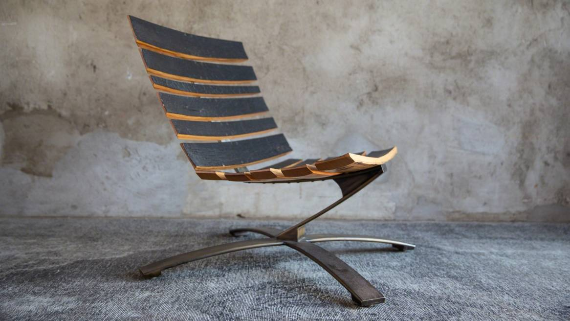 Uhuru Bilge Chair On White