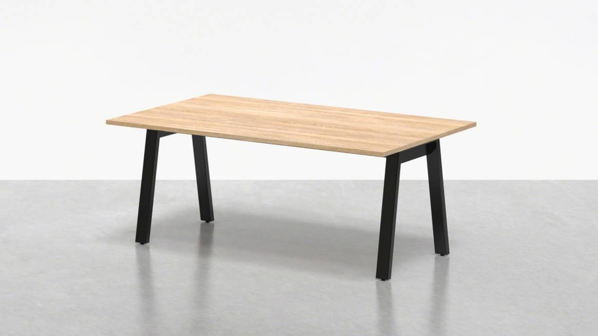 Uhuru Broad Communal Table 72 On White