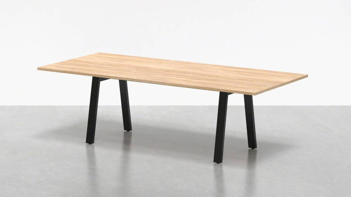 Uhuru Broad Communal Table 96 On White