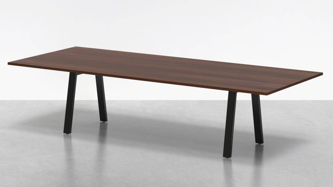 Uhuru Broad Communal Table 120 On White