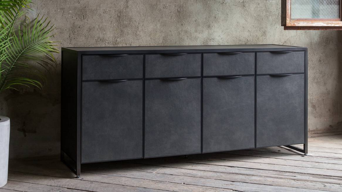 Uhuru Cairns Credenza with closed drawers