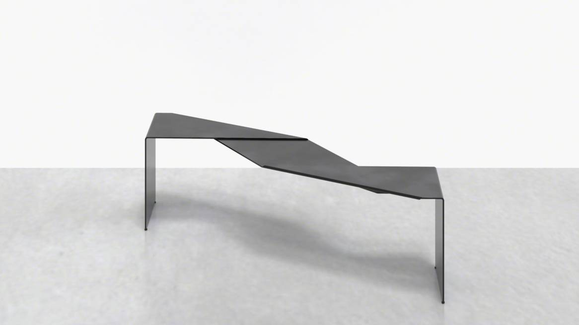 Uhuru Fold Bench On White