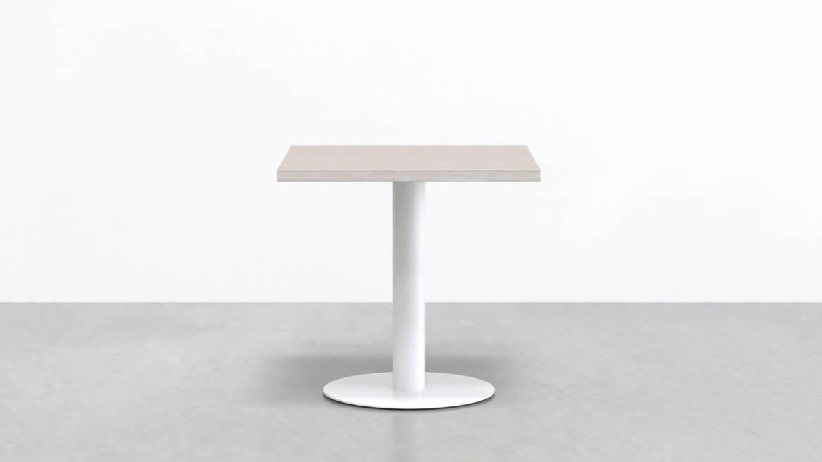 Uhuru Mast Square Cafe Table On White
