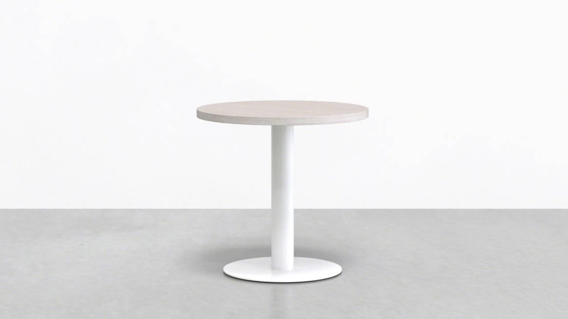 Uhuru Mast Round Cafe Table On White