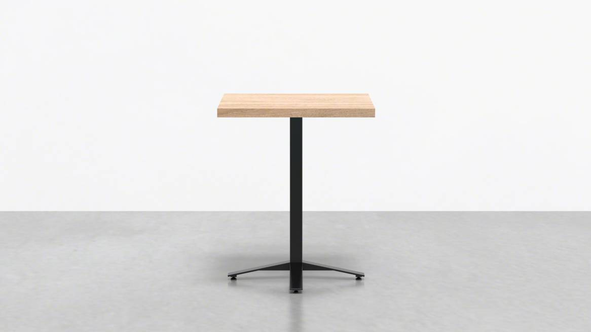 Uhuru Perch Square Cafe Table On White