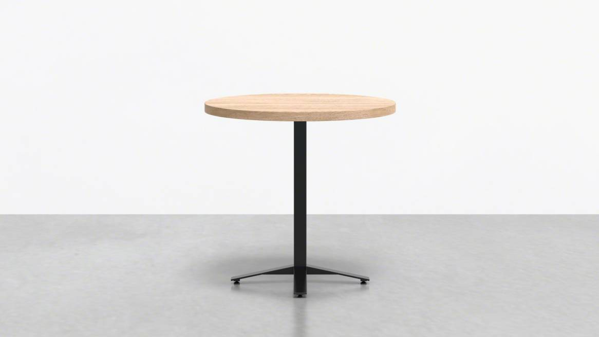Uhuru Perch Round Cafe Table On White