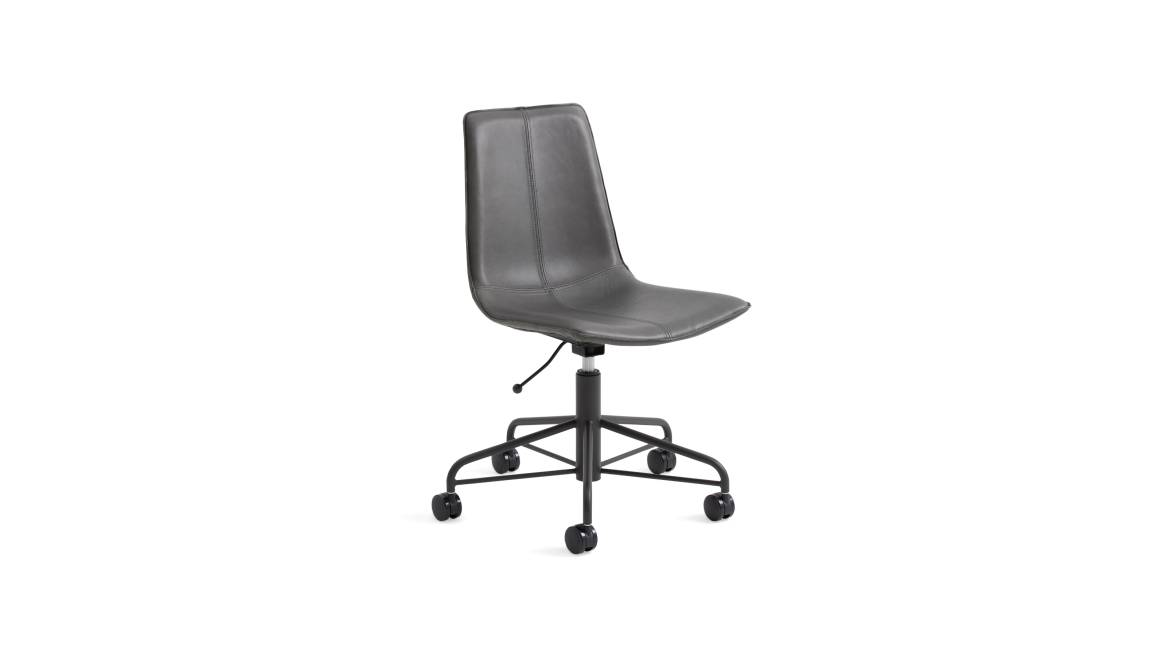 West Elm Work Slope Conference Chair On White