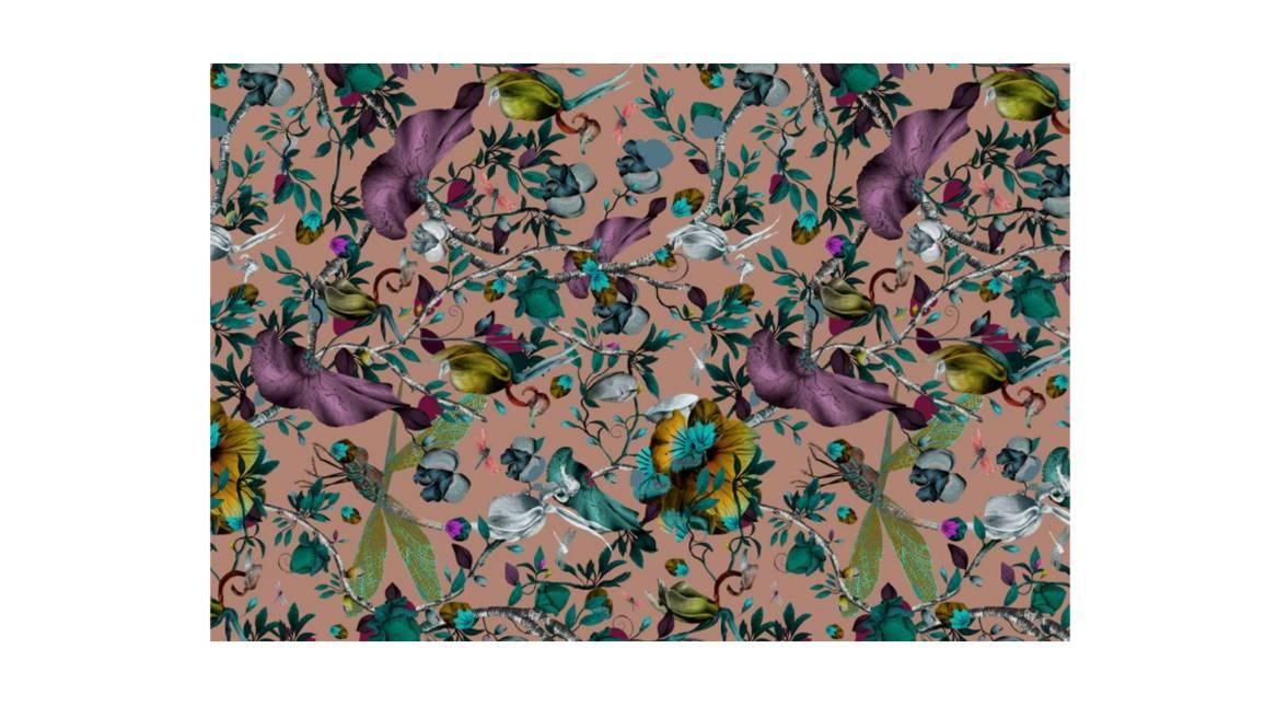 Biophillia Nude Rectangle Moooi Carpets On White